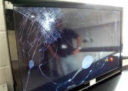 TV Broken in Moving